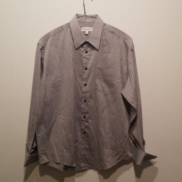 0b5561844e Yves Saint Laurent Shirts | Vintage Ysl Mens Dress Shirt | Poshmark